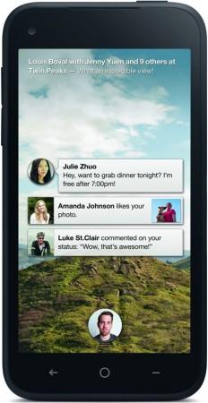HTC First -Фотография телефона. Photo HTC First