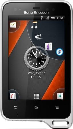 Sony Ericsson Xperia active -Фотография телефона. Photo Sony Ericsson Xperia active