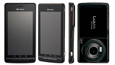 Panasonic,  Sharp и Dell анонсировали в Японии новые Android-смартфоны high-end